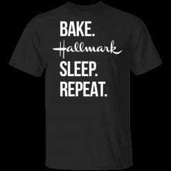 Bake Hallmark Sleep Repeat Christmas Shirt - TheTrendyTee