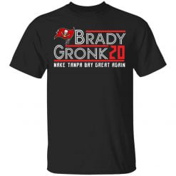 Brady Gronk 2020 make Tampa Bay great again shirt - TheTrendyTee