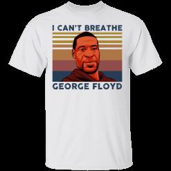 George Floyd I can't breathe shirt - TheTrendyTee