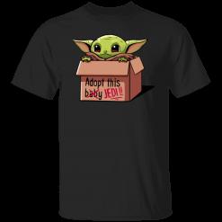 Baby Yoda Adopt This Jedi shirt - TheTrendyTee