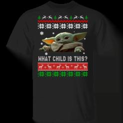 Baby Yoda Christmas ugly sweater - TheTrendyTee