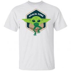The Mandalorian Baby Yoda Snack Time shirt - TheTrendyTee