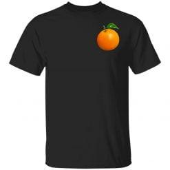 Elon Musk Left Chest Orange Shirt - TheTrendyTee
