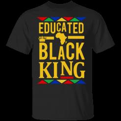 Educated Black King Shirt African DNA Pride - TheTrendyTee